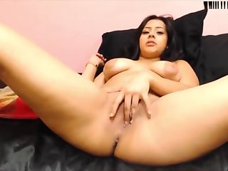Chunky butt Mexican goddess Anglica Alvarez with big areol