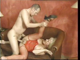 Blonde woman enjoys being fucked by way of an orgy session