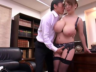 HORNYCAMS.PW - Asian around big tits undressing at the office