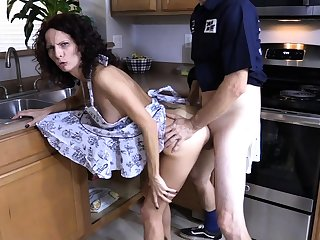 Horny doggystyle anal shafting