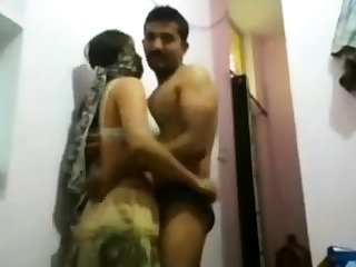 Indian Desi Ungentlemanly Pounded Doggystyle with an increment of Facial
