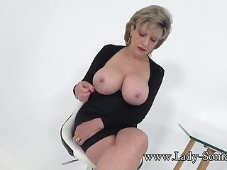 Aunt Sonia invites you walk out on after catching you wanking
