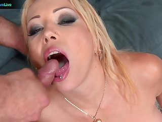Sweet babe Electra Wild opens her legs to be arse fucked by her man