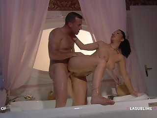 Panhandler with steel inches fucks this cheating wife in crazy modes
