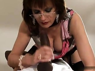 Grown up and busty amateur tie the knot blowjob and anal creampie