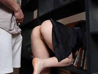 Hot stepmother specially doesn't affect panties
