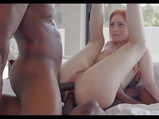 Kinky uninspiring Maya Kendrick is happy to work heavens fat strong BBCs