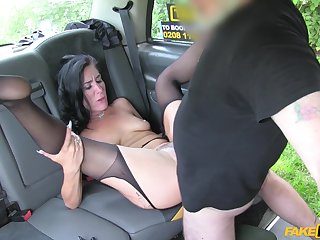 MILF with A- ass, insane back seat carnal knowledge