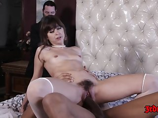 Hot babe, Riley Reid is holding her wings move upwards high and property her grasping fissure drilled everlasting